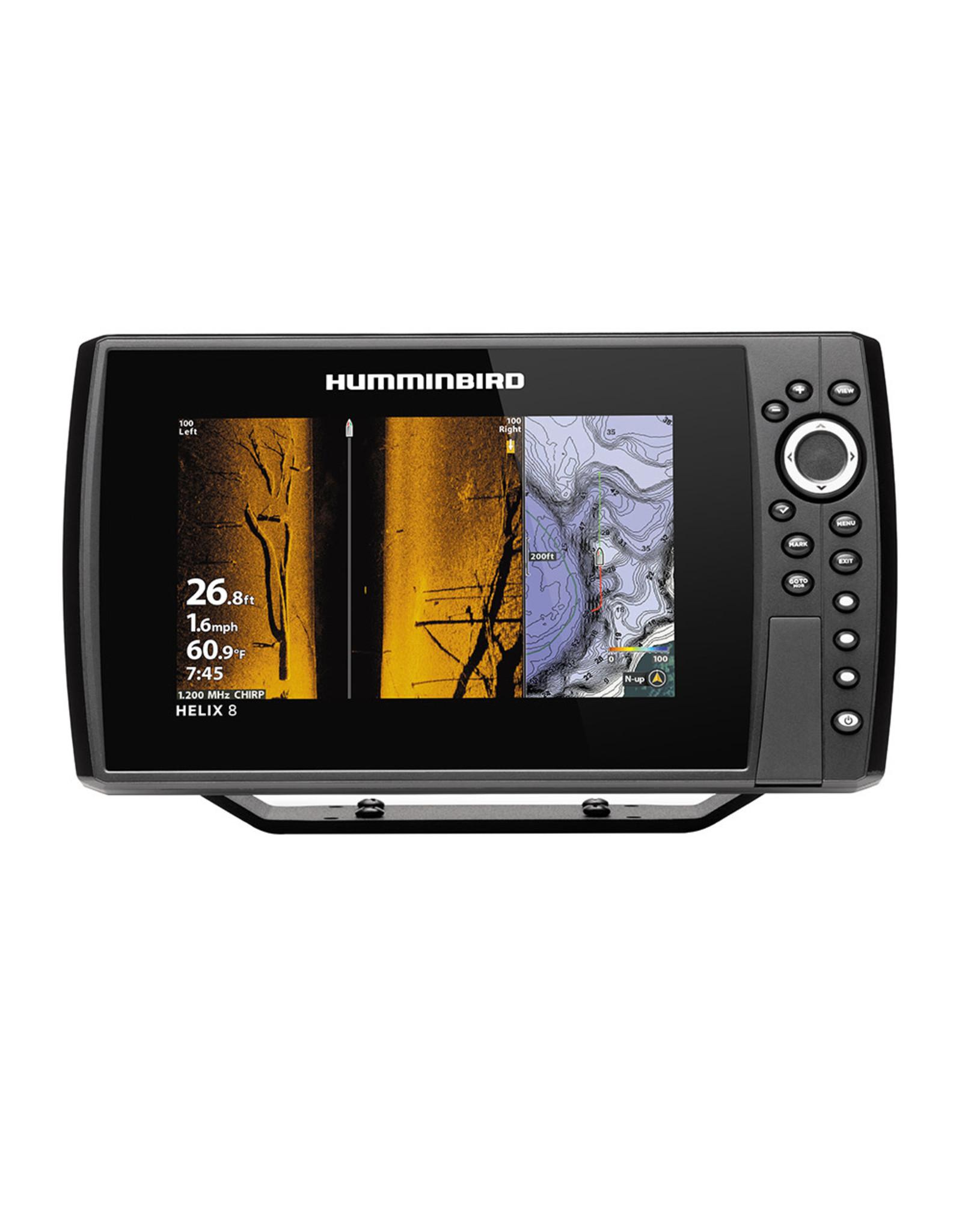 Humminbird HELIX® 8 CHIRP MEGA SI Fishfinder/GPS Combo G3N