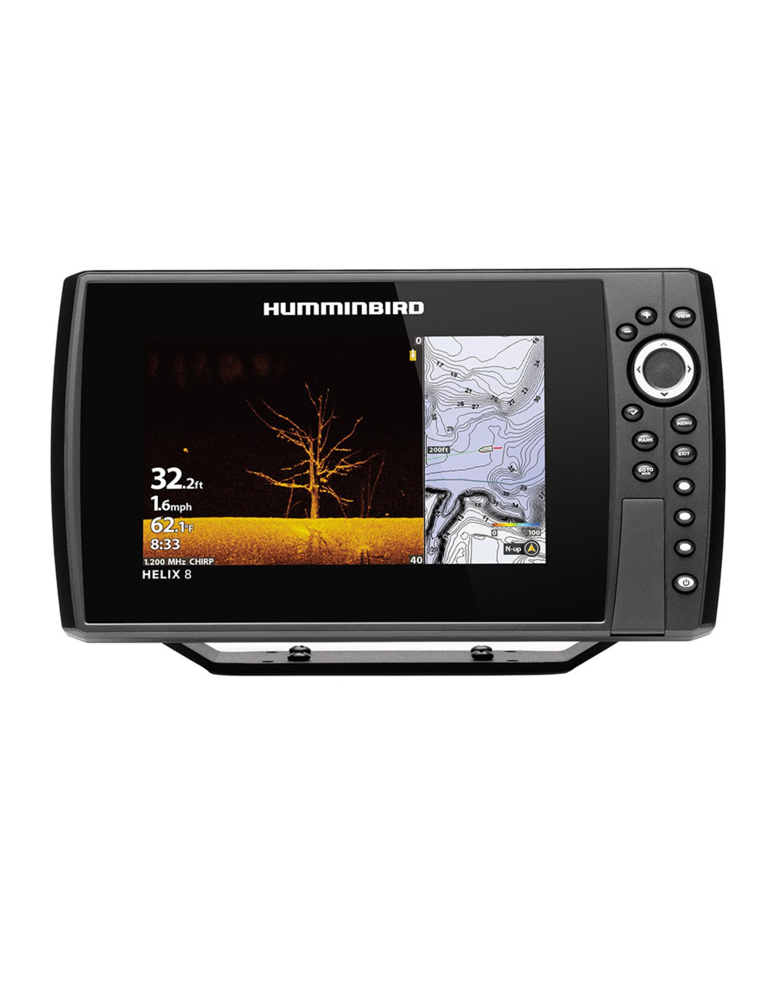 Humminbird HELIX® 8 CHIRP MEGA DI Fishfinder/GPS Combo G3N