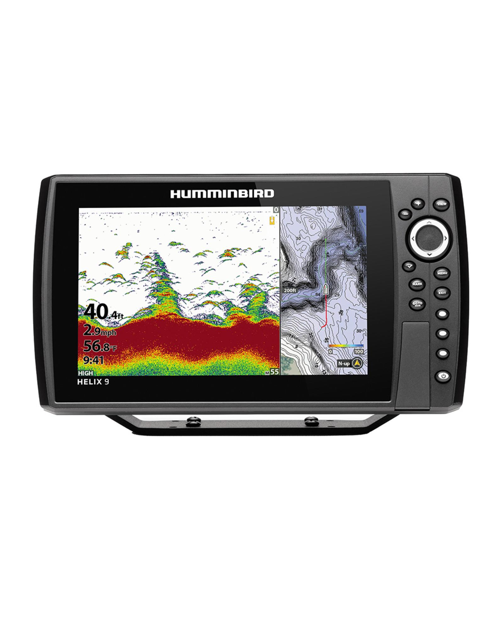 Humminbird HELIX® 9 CHIRP Fishfinder/GPS Combo G3N