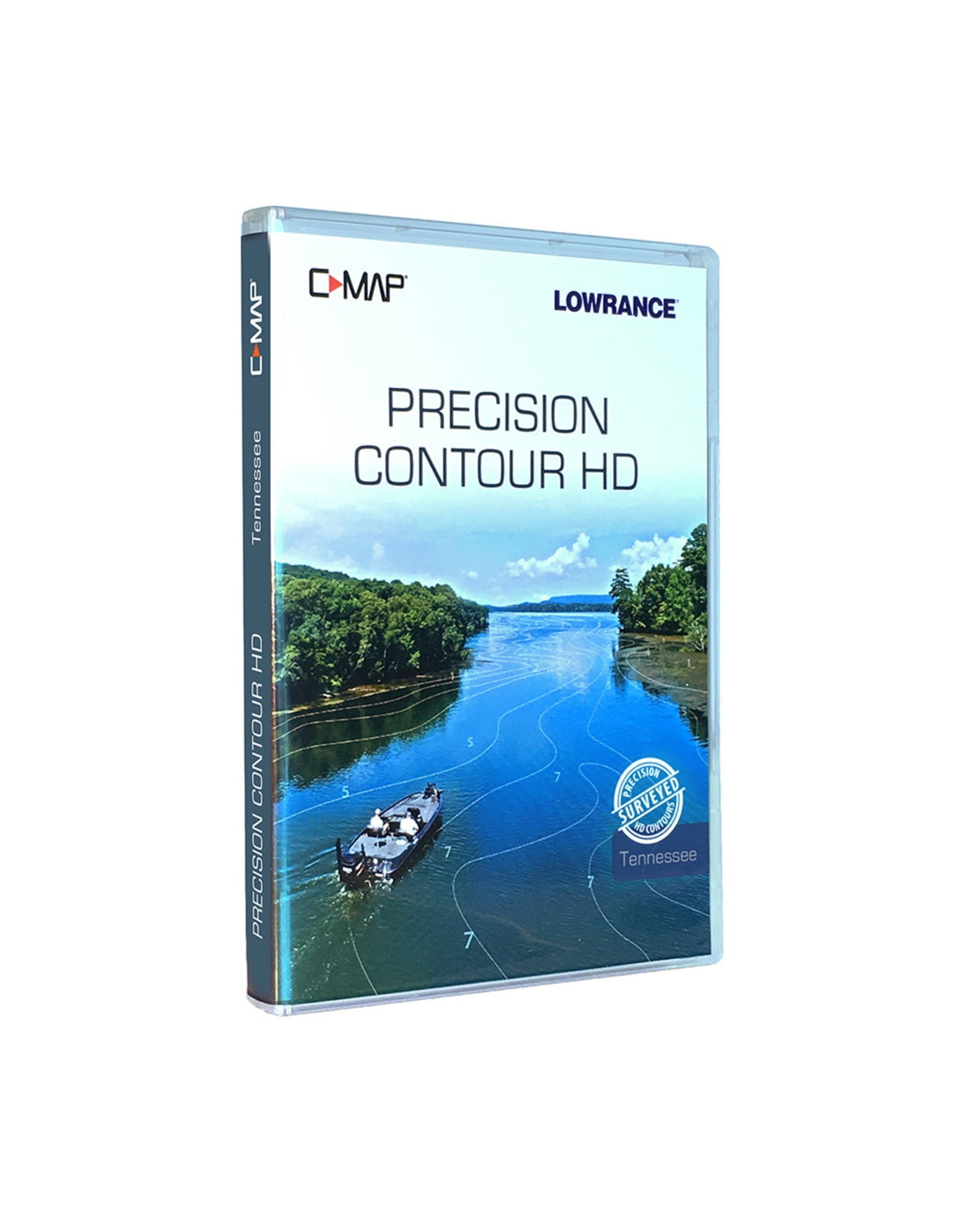 Lowrance C-MAP Precision Contour HD Chart - Tennessee