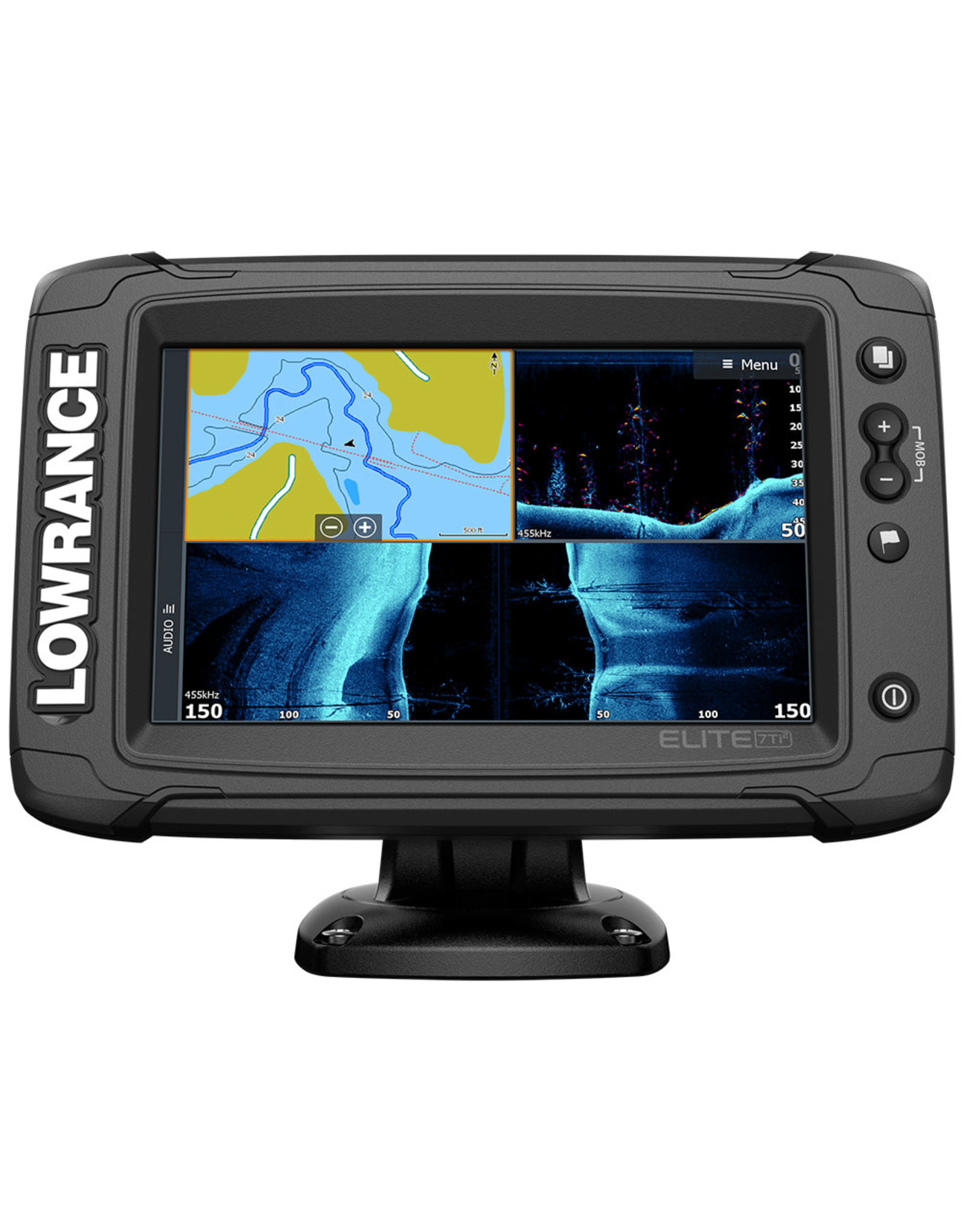 Lowrance Elite-7 Ti² Combo with HDI Transducer & US/Canada Nav+ Chart