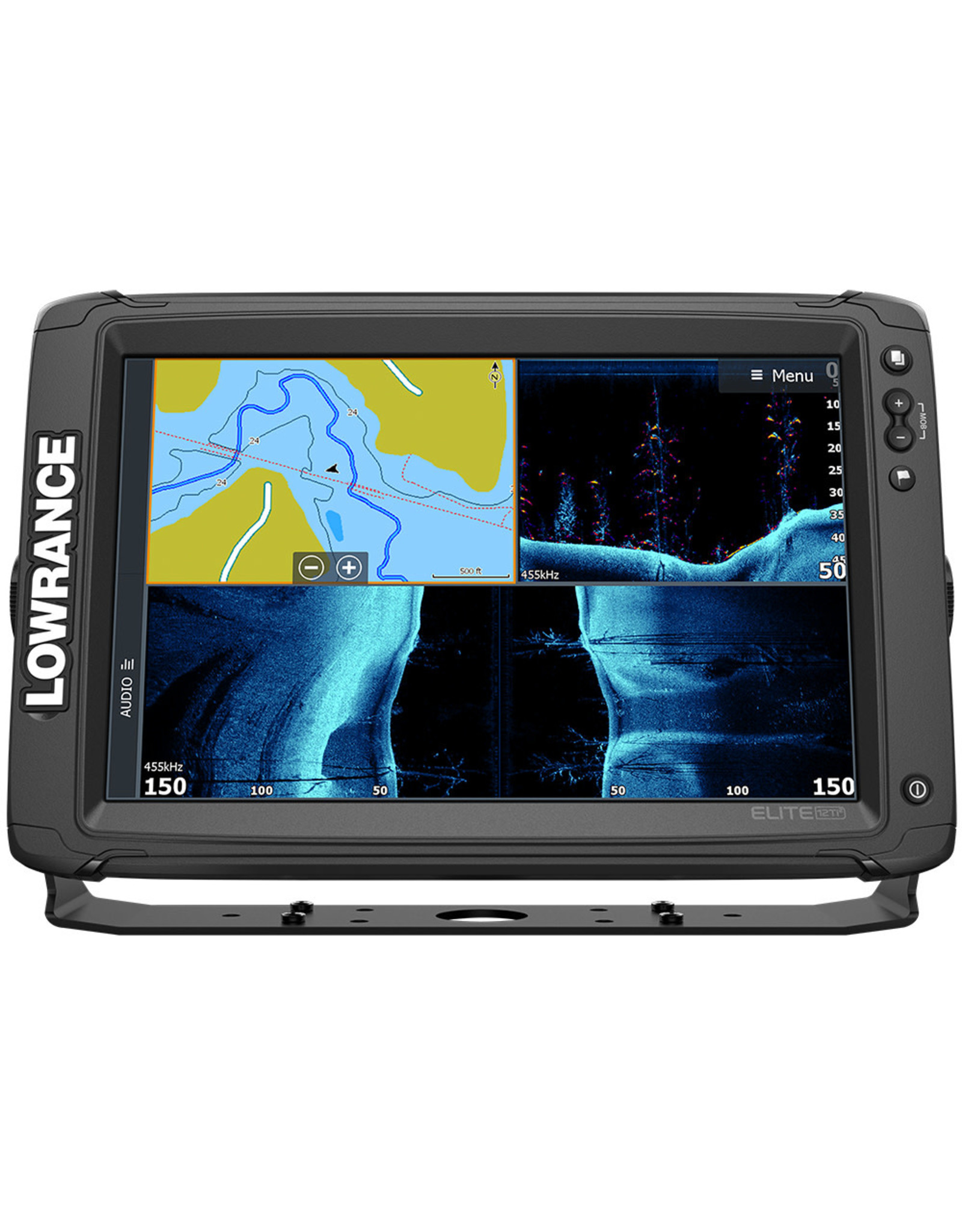 Lowrance Elite-12 Ti² Combo with Active Imaging 3-in-1Transducer and US Inland Chart