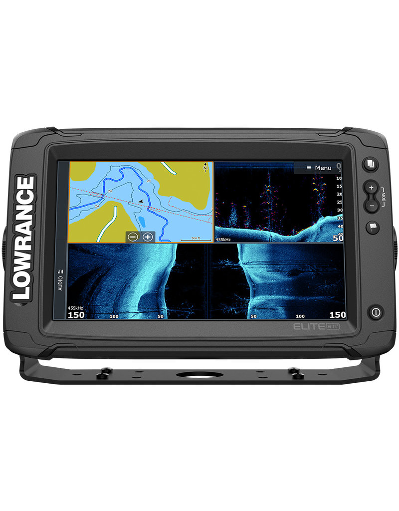 Lowrance Elite-9 Ti² Inland with Active Imaging™ 2-in-1, Mid/High Skimmer & Y Cable