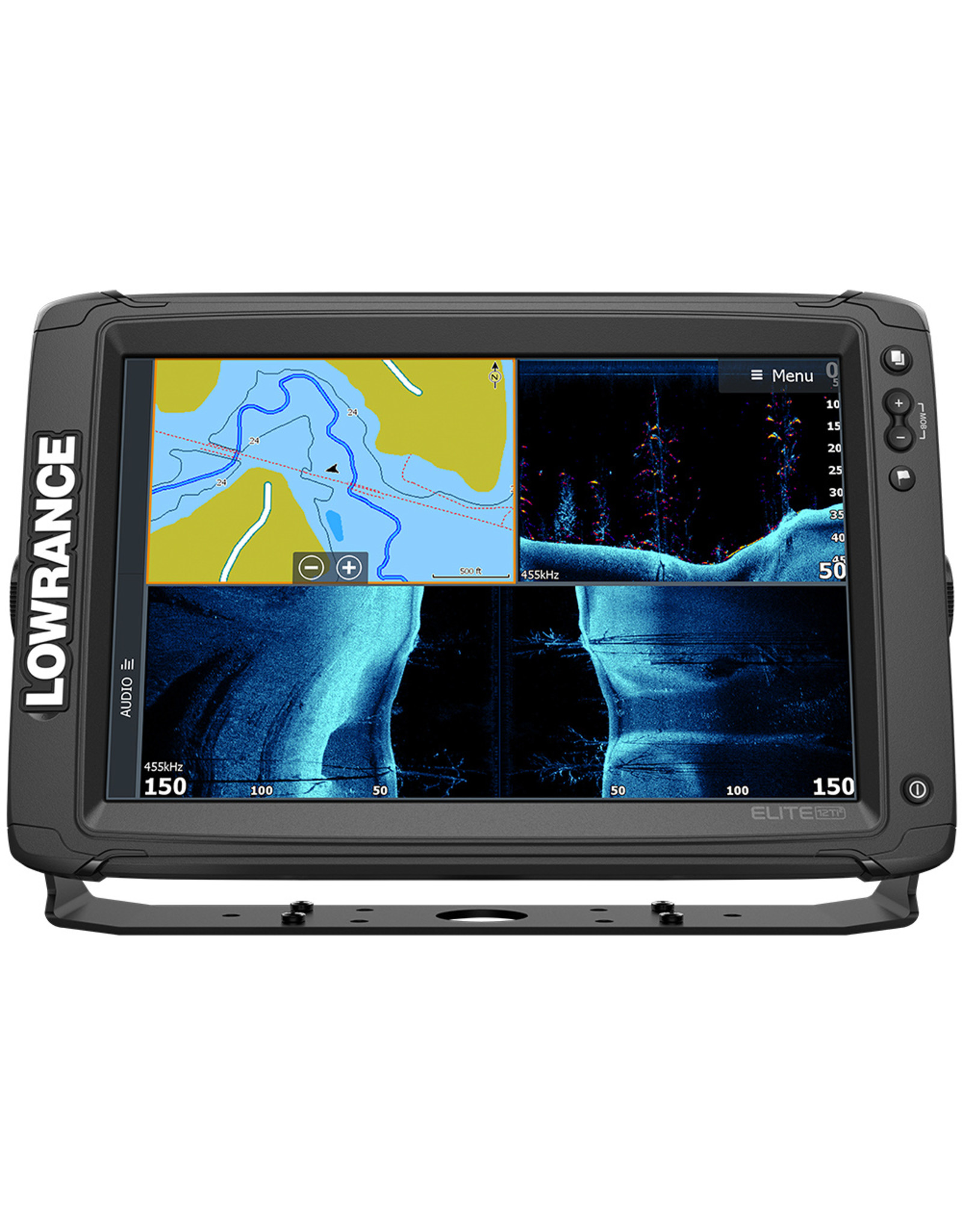 Lowrance Elite-12 Ti² Inland with Active Imaging™ 2-in-1, Mid/High Skimmer & Y Cable