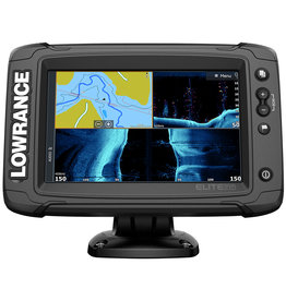 Lowrance Elite-7 Ti² Combo US Inland with Mid/High Skimmer, Active Imaging™ 2-in-1 Transducer & Y Cable