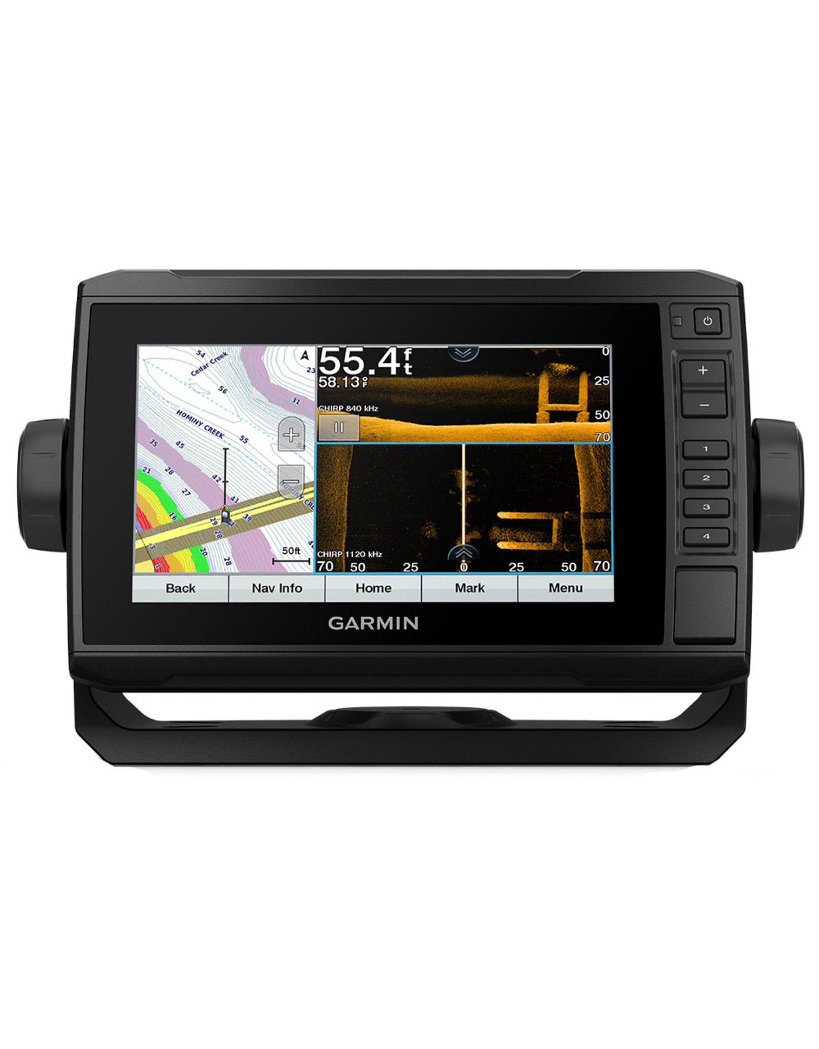 Garmin Echomap™ UHD 73cv US LakeVü g3 without transducer.