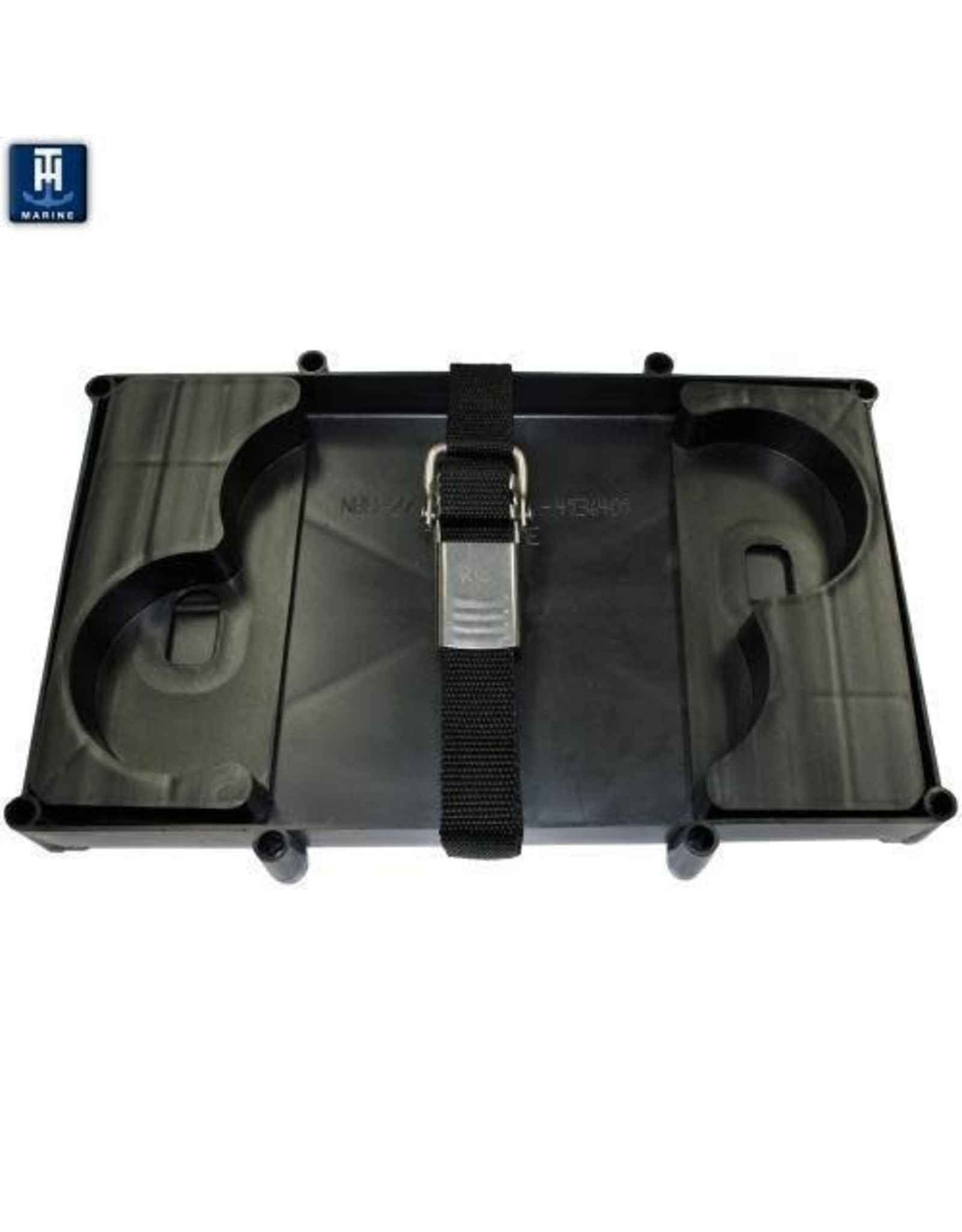 TH Marine Optima Battery Tray w/Stainless Buckle