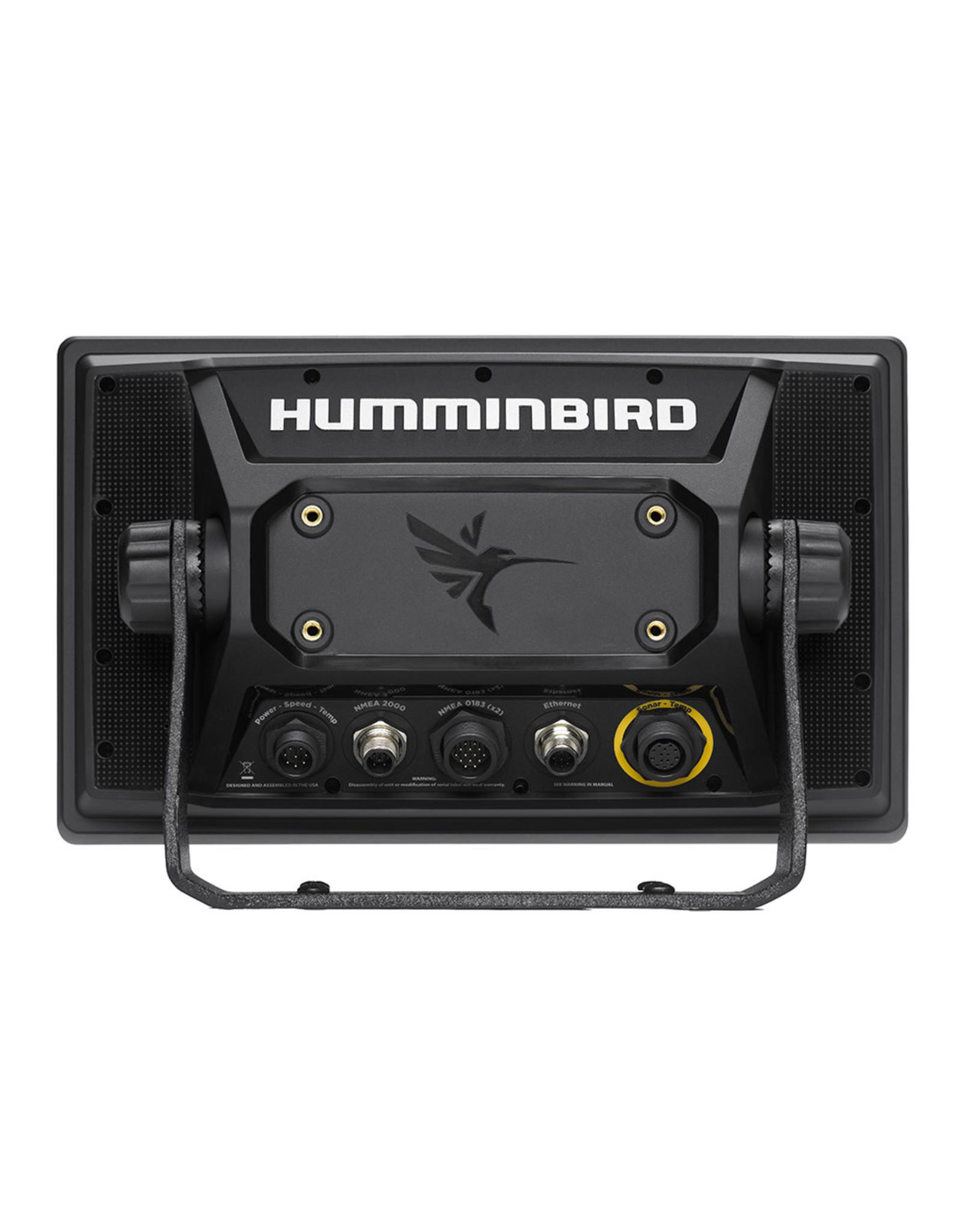 Humminbird SOLIX™ 10 CHIRP MEGA SI Fishfinder/GPS Combo G2 with Transom Mount Transducer