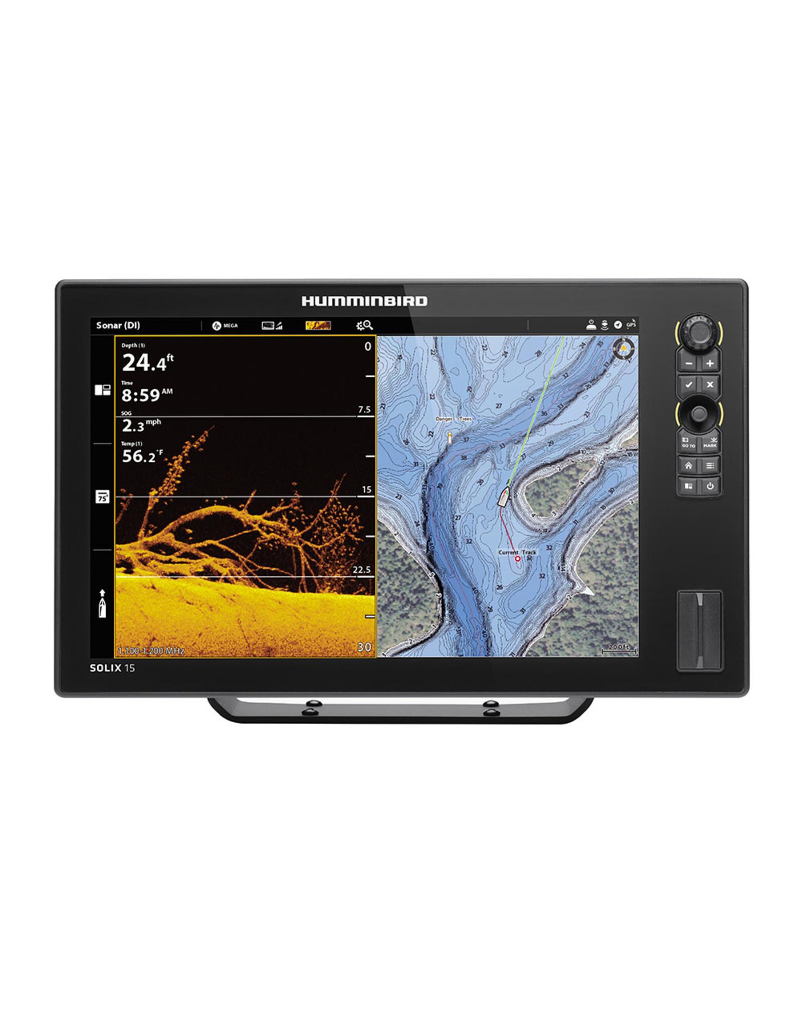 Humminbird SOLIX™ 15 Chirp MEGA SI Fishfinder/GPS Combo G2