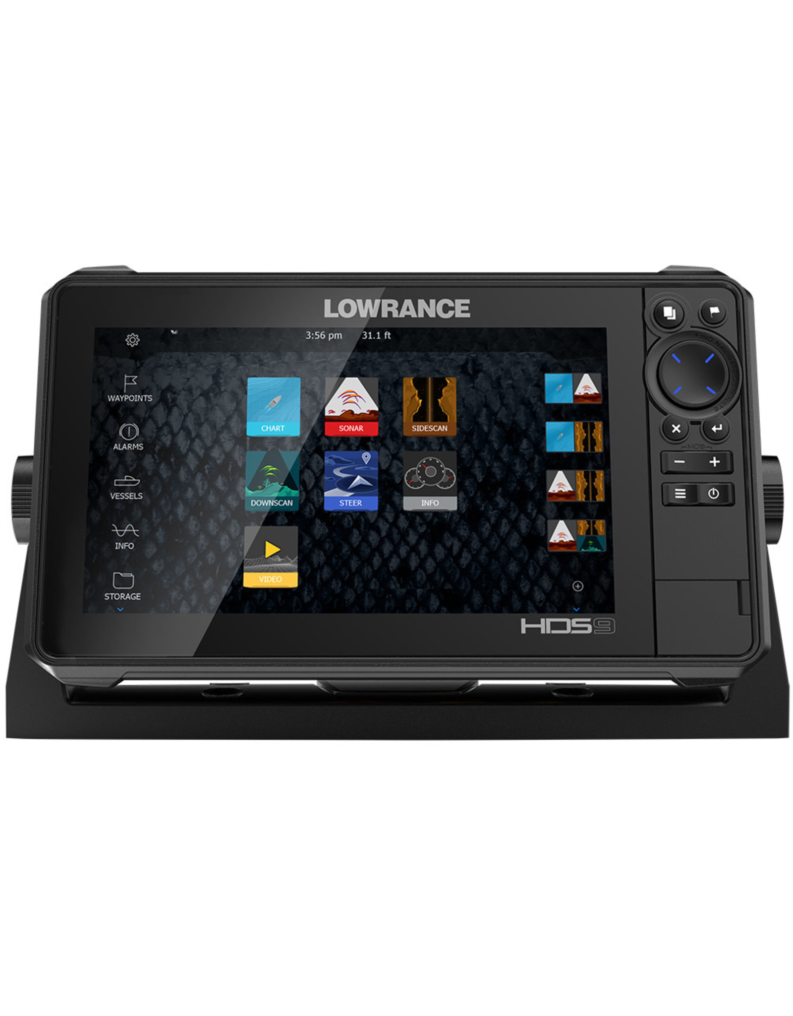Lowrance HDS-12 LIVE with Active Imaging 3-in-1 Transom Mount & C-MAP Pro Chart