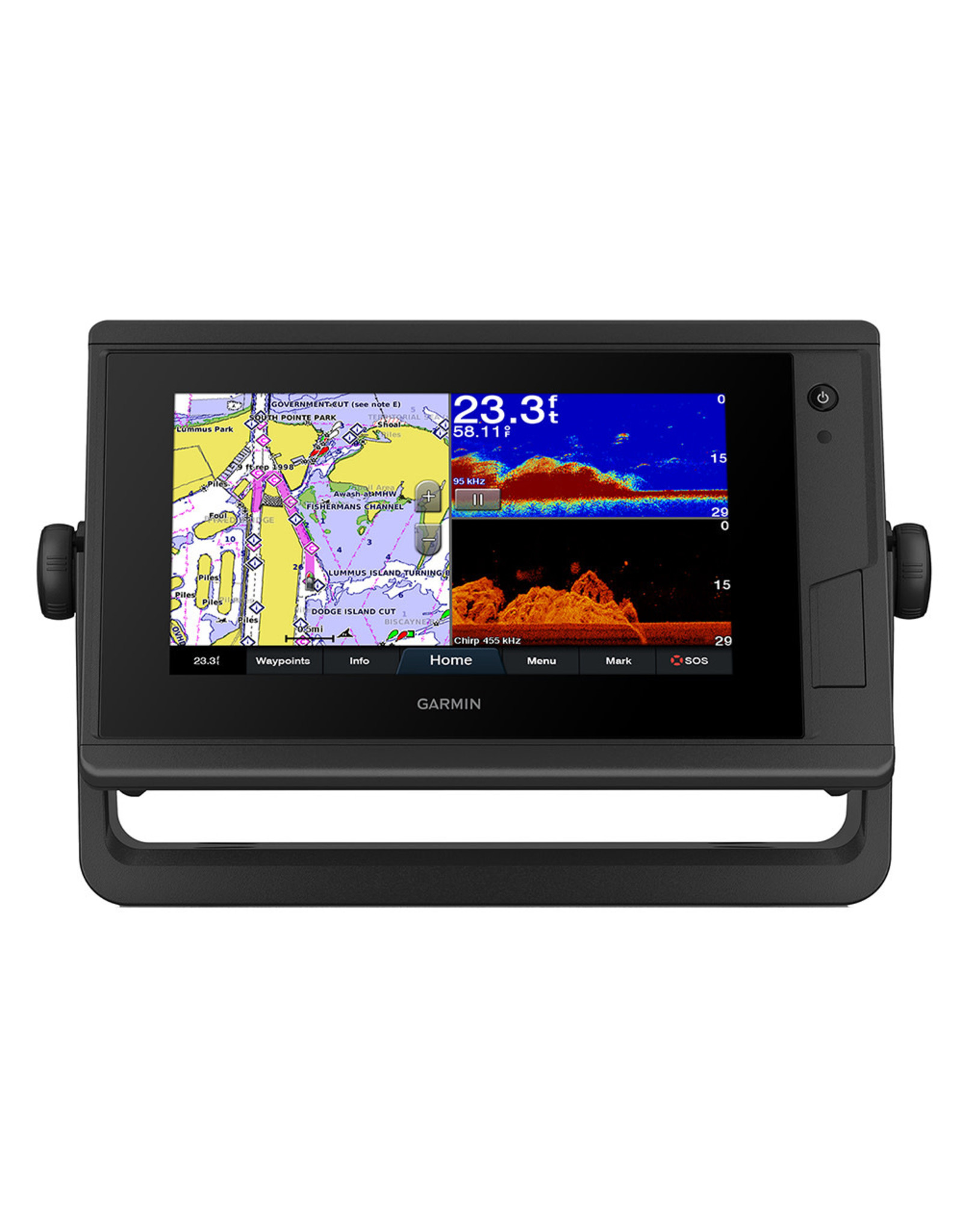 Garmin GPSMAP® 942xs Plus Touchscreen GPS/Fishfinder Combo
