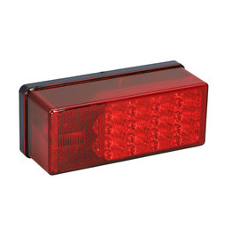 "Wesbar Wesbar 3"" X 8"" Waterproof LED  Tail Light"