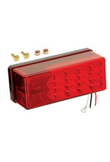 "Wesbar Wesbar 3"" X 8"" Waterproof LED 8-Function, Left/Roadside Tail Light"