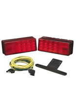"Wesbar Wesbar Waterproof LED Over 80"" 3x8 Low Profile Trailer Light Kit"
