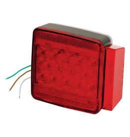 """Wesbar Wesbar Under 80"""" Submersible LED 6-Function Right Trailer Light"""