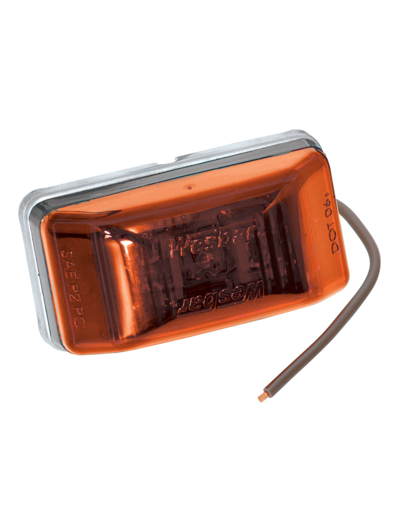 Wesbar Wesbar Waterproof LED Clearance/Side Marker Light #99 Series Amber