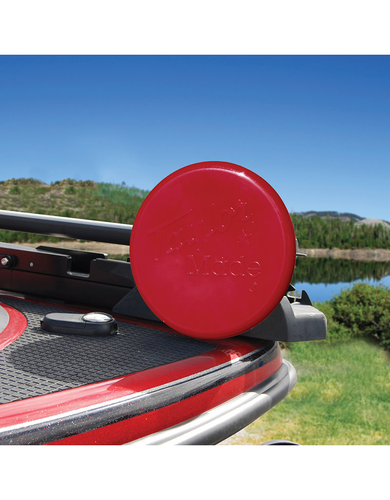 """Taylor Made Trolling Motor Propeller Cover- 3-Blade Cover - 10""""- Red"""