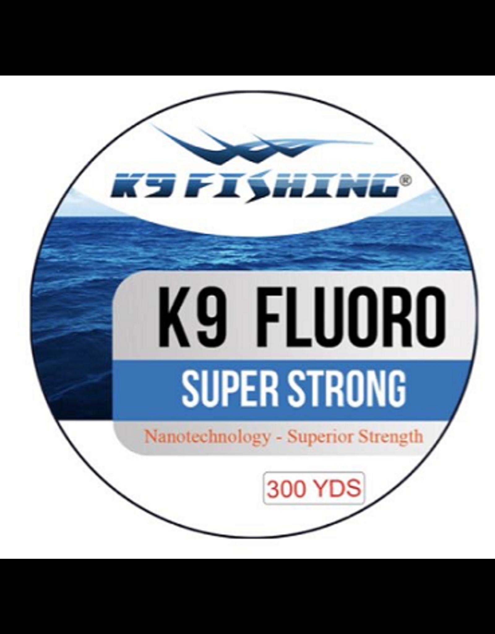 K9 Fishing K9-Flouro Clear 300 yd Spool