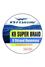 K9 Fishing K9 Strand Braided Green 150 45 lb