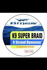 K9 Fishing K9 Strand Braided Green 150 20 lb