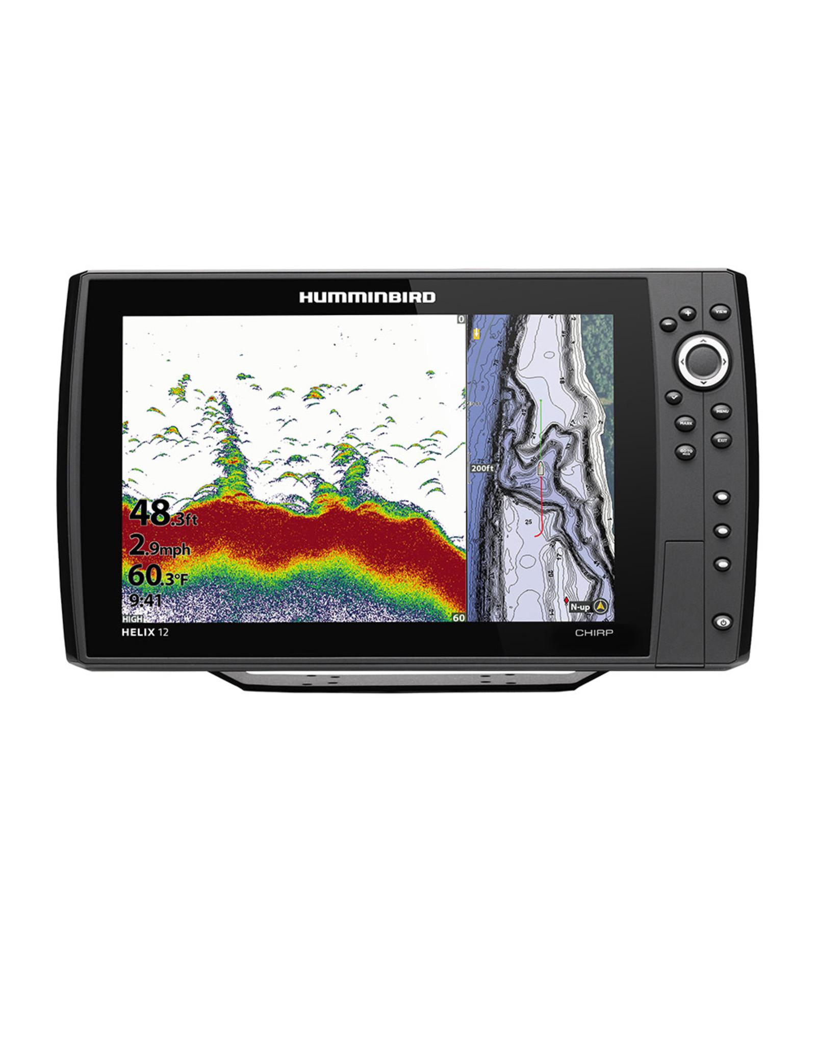 Humminbird HELIX® 12 CHIRP GPS Combo G3N