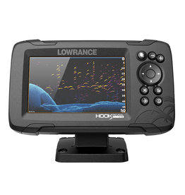 Lowrance HOOK Reveal 5x Fishfinder with SplitShot Transducer & GPS Trackplotter