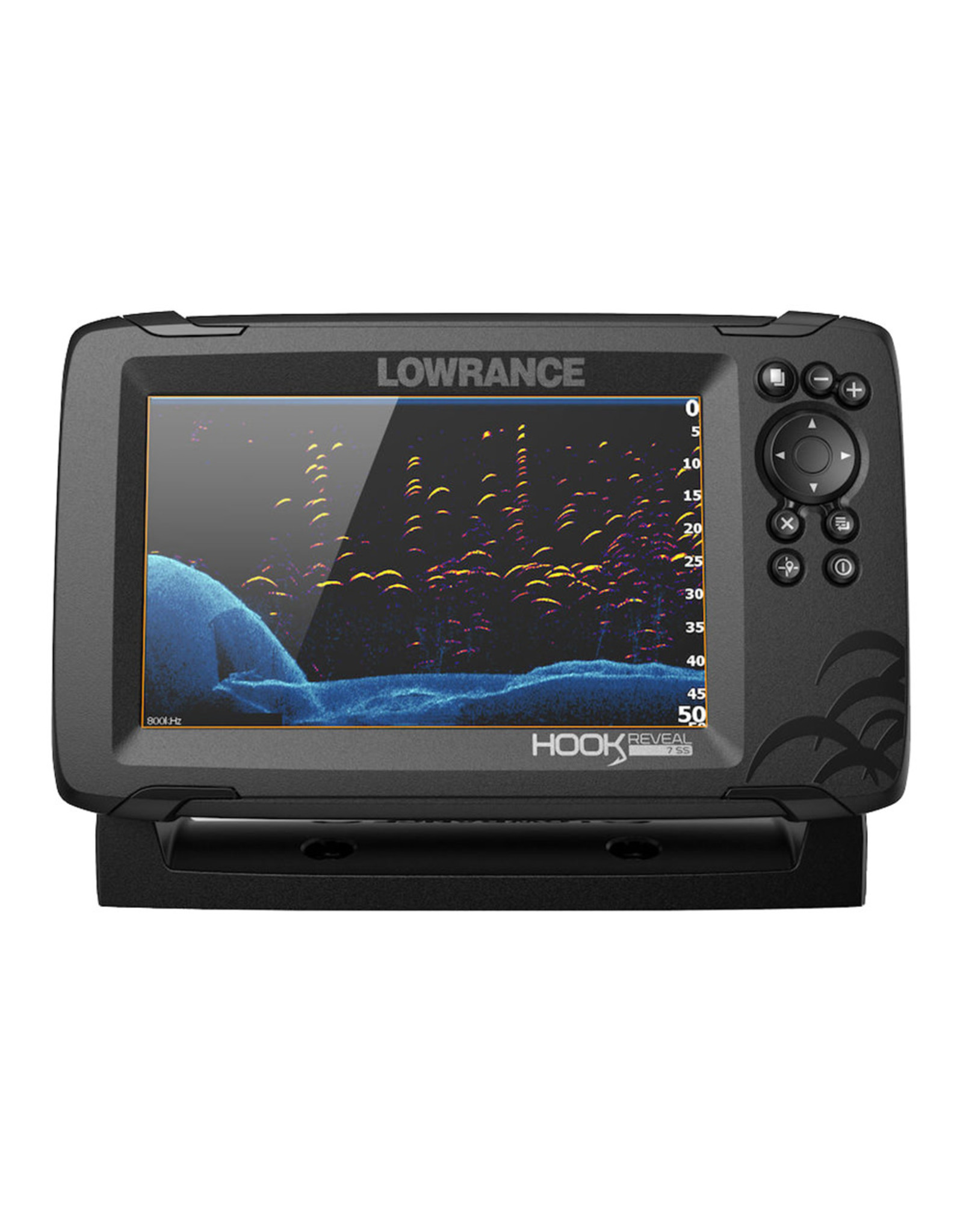 Lowrance HOOK Reveal 7 Chartplotter/Fishfinder with SplitShot Transducer & US Inland Charts