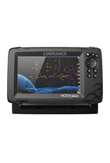 Lowrance HOOK Reveal 7x Fishfinder with TripleShot Transducer with Built-In GPS Trackplotter