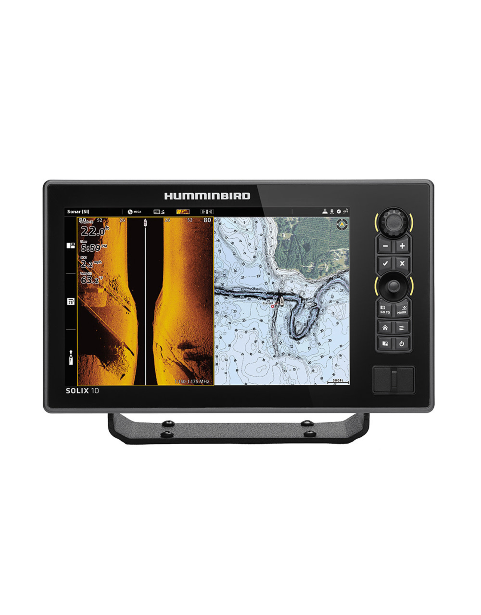 Humminbird SOLIX™ 10 Chirp MEGA SI Fishfinder/GPS G2 - Display Only