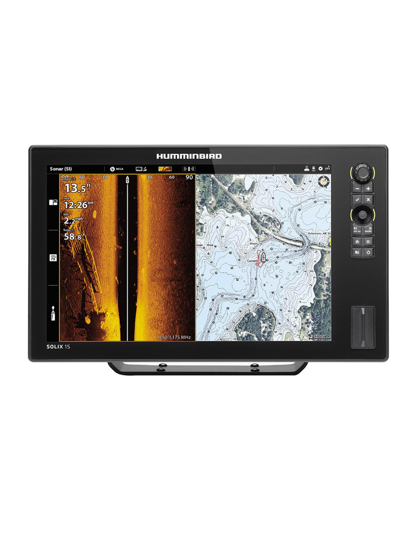 Humminbird SOLIX™ 15 Chirp MEGA SI Fishfinder/GPS G2 - Display Only