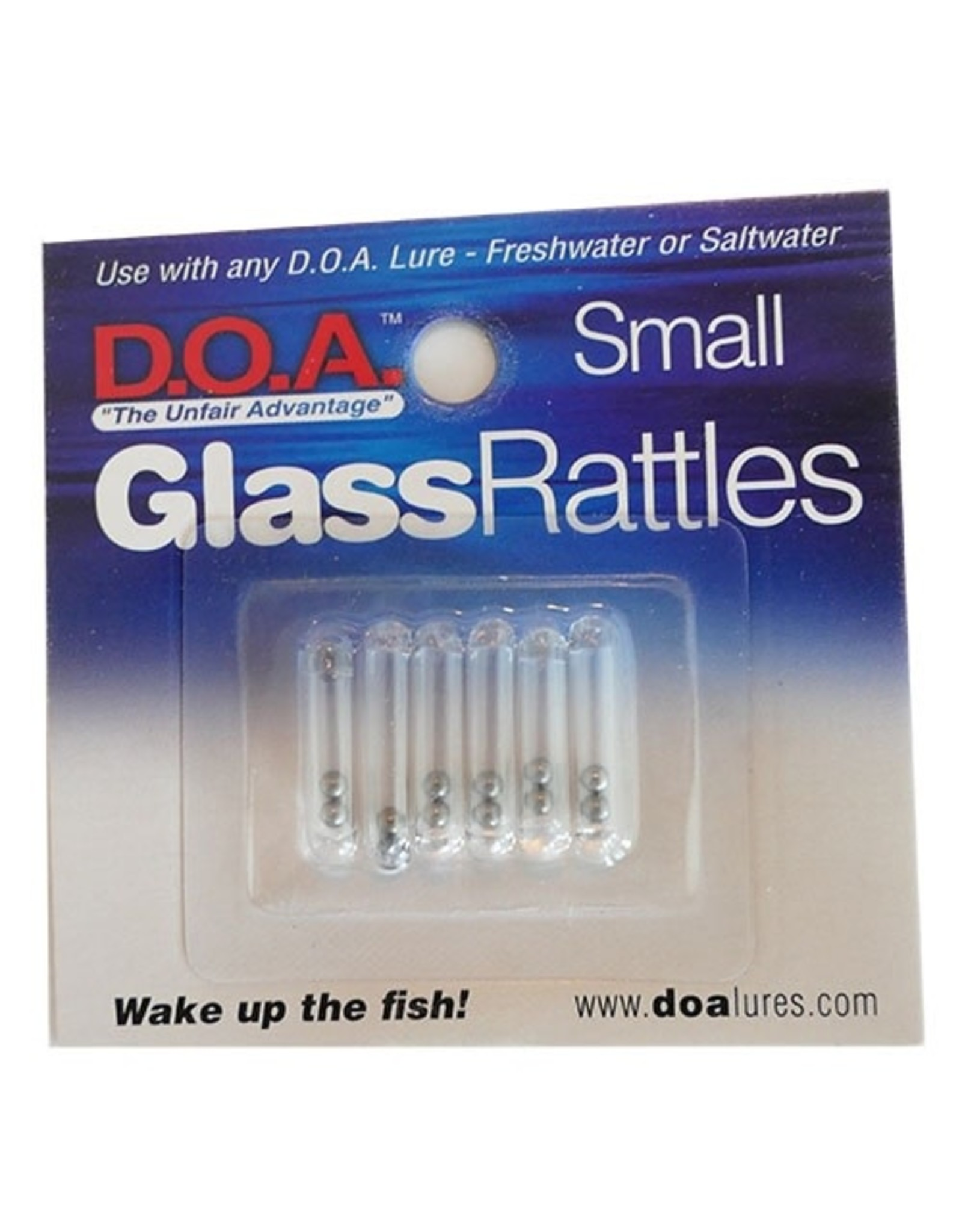 DOA Glass Rattles