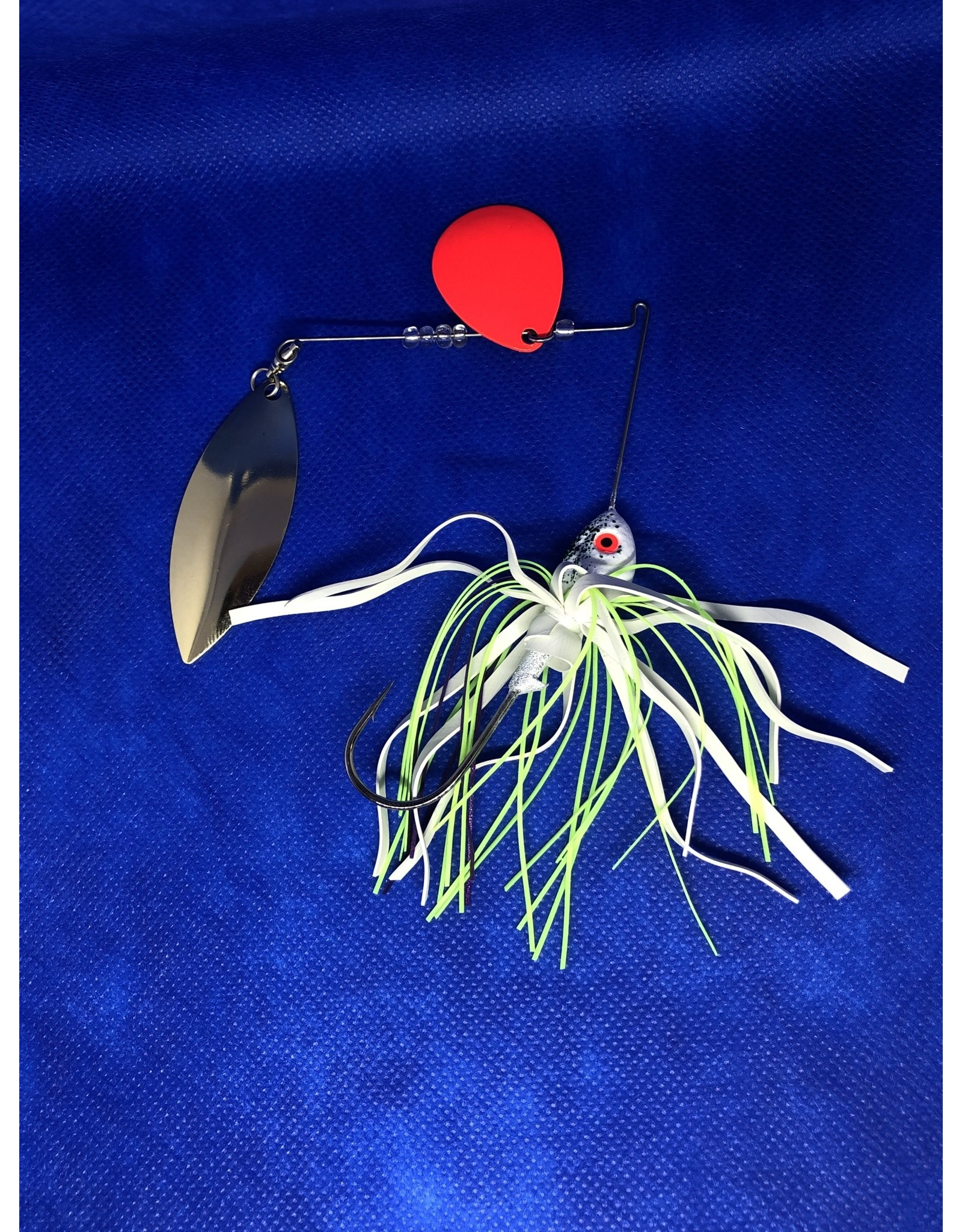 Yank-um Yank-um Tablerock Spinnerbait - Red/Willow