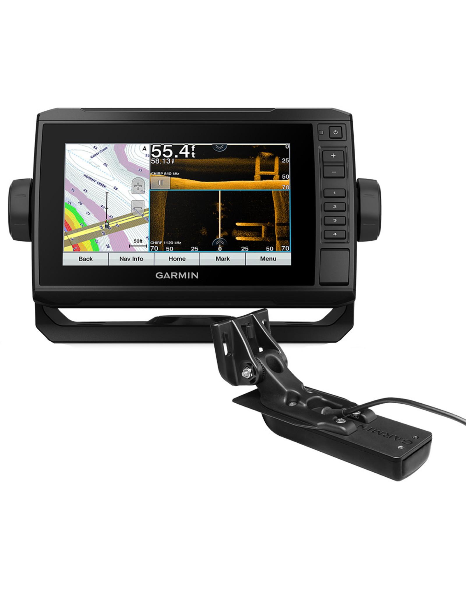 Garmin ECHOMAP™ UHD 73sv LakeVü g3 with GT56UHD-TM Transducer