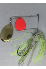 Yank-um Yank-um Tablerock Spinnerbait - Red/Indiana