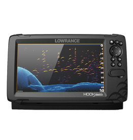 Lowrance HOOK Reveal 9 Chartplotter/Fishfinder with TripleShot Transducer & Nav+ Charts