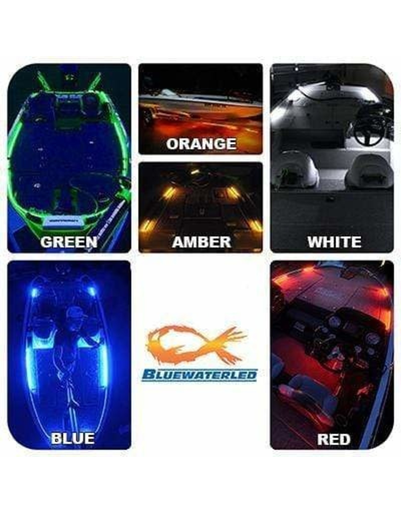Blue Water LED Bluewater Front & Rear Deck Lights