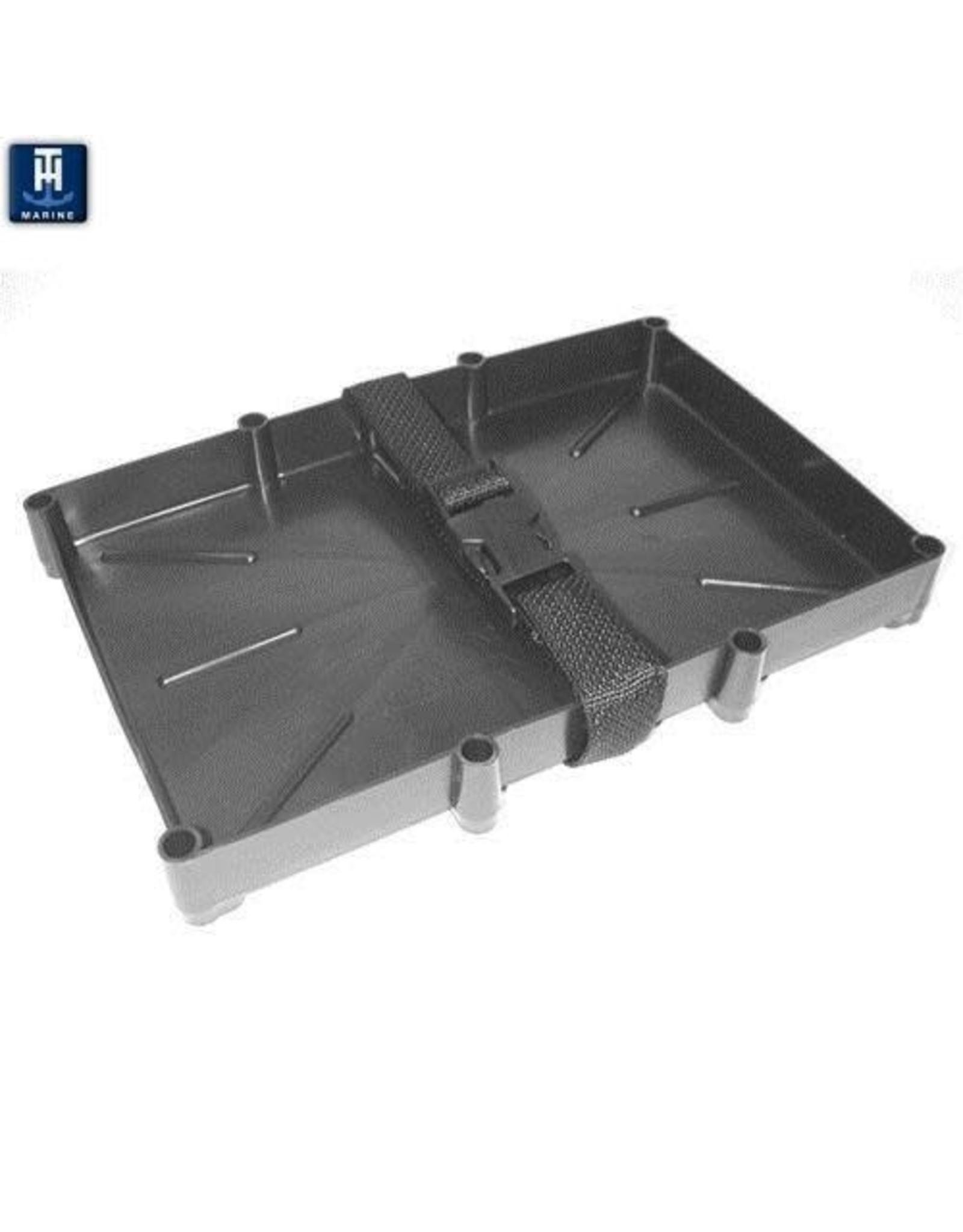 TH Marine Narrow Battery Tray 31 Series Polystrap