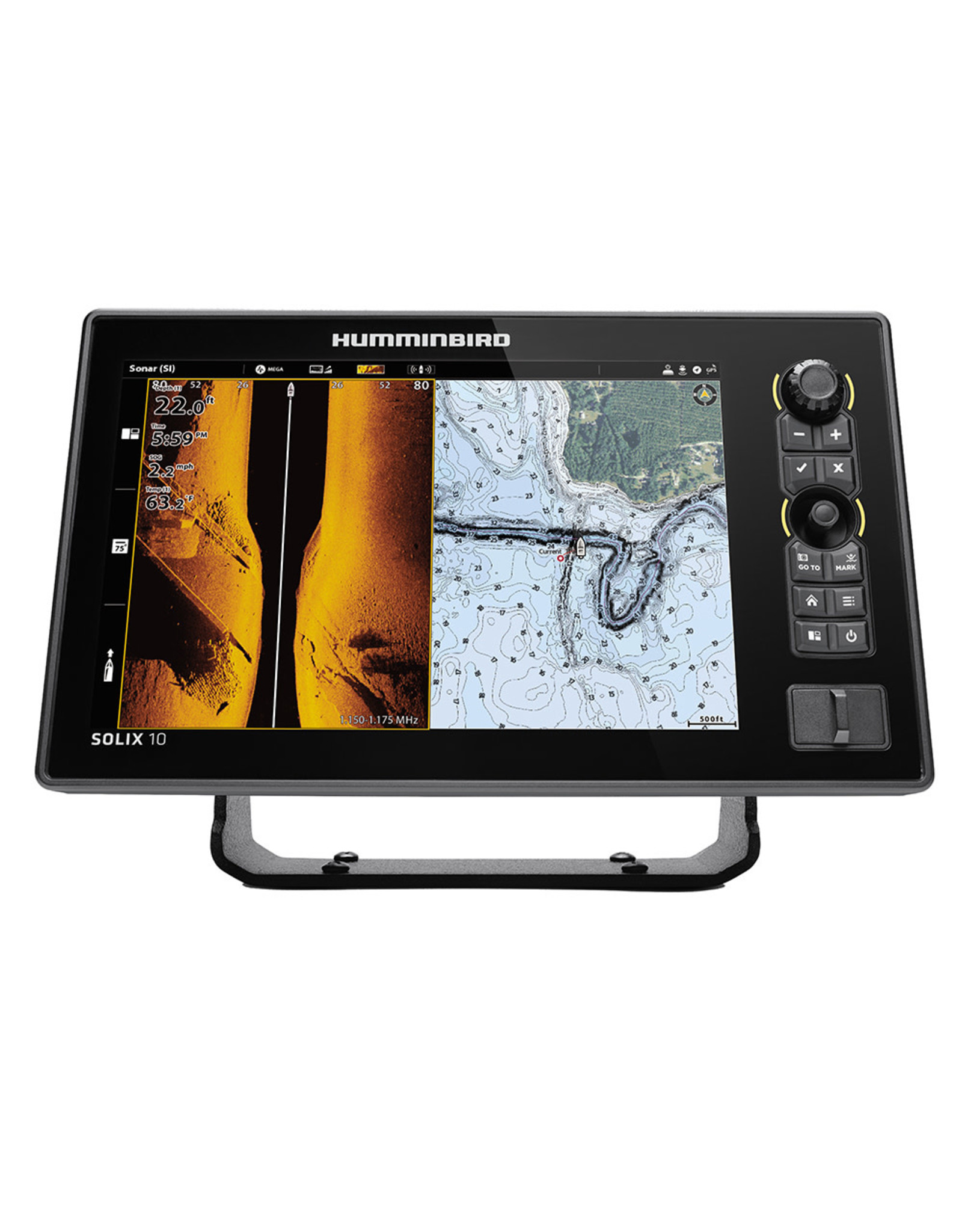 Humminbird SOLIX® 10 CHIRP MEGA SI+ G3 CHO Display Only