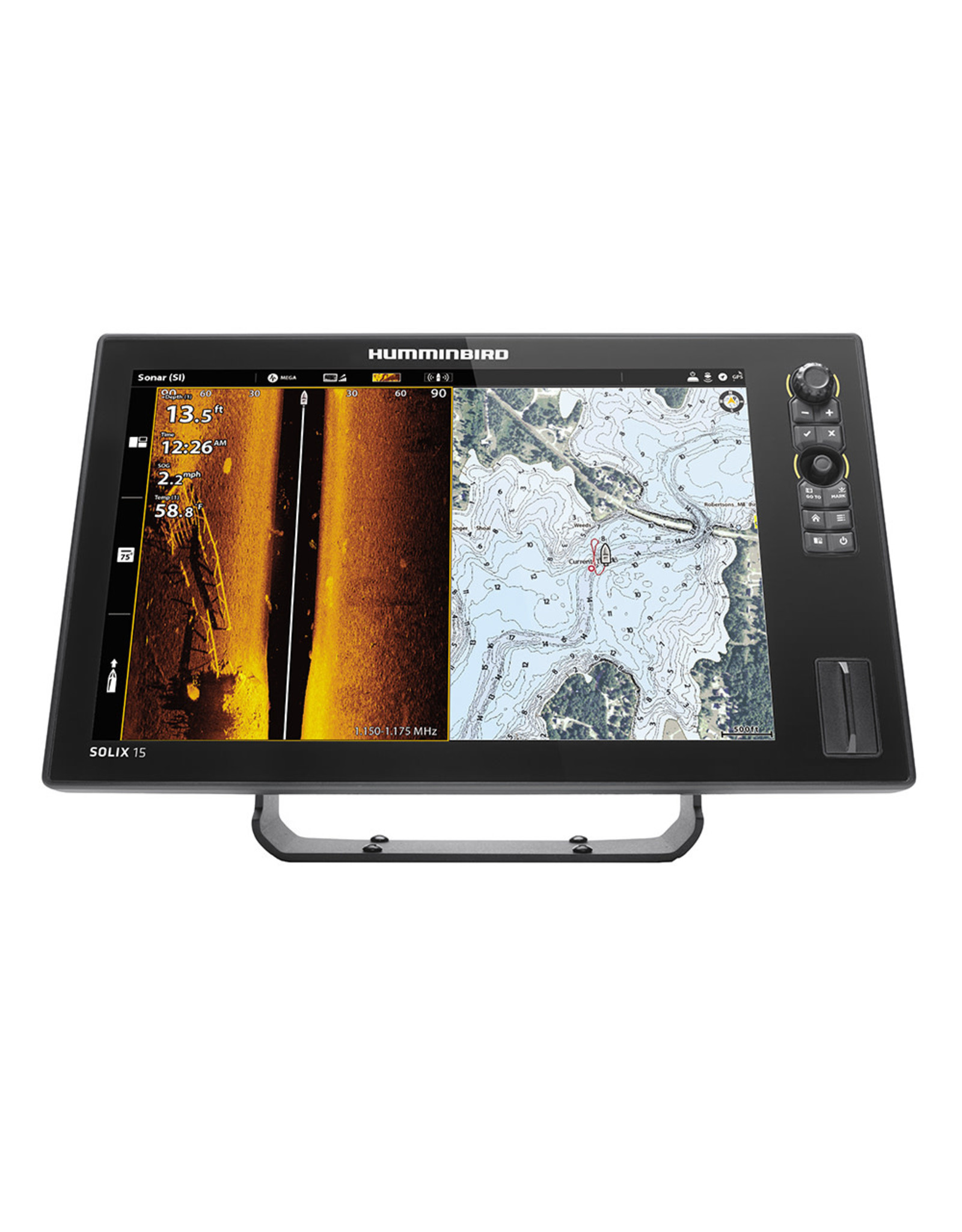 Humminbird SOLIX® 15 CHIRP MEGA SI+ G3 CHO Display Only