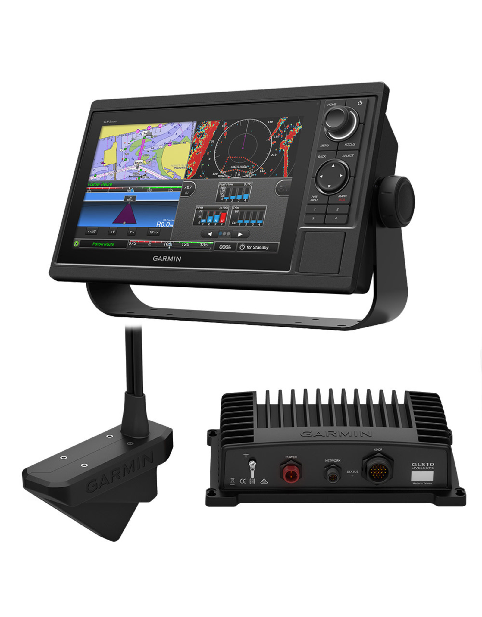 Garmin GARMIN GPSMAP® 1022 LIVESCOPE BUNDLE