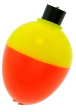 "Betts Bobber - 3/4"" Pear Orange/Yellow"