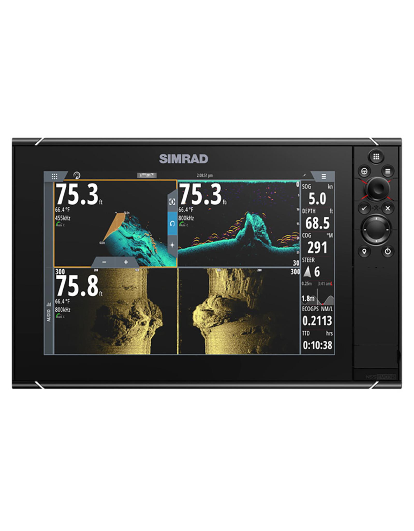 SIMRAD NSS12 evo3S Multi-Function Chartplotter/Fishfinder