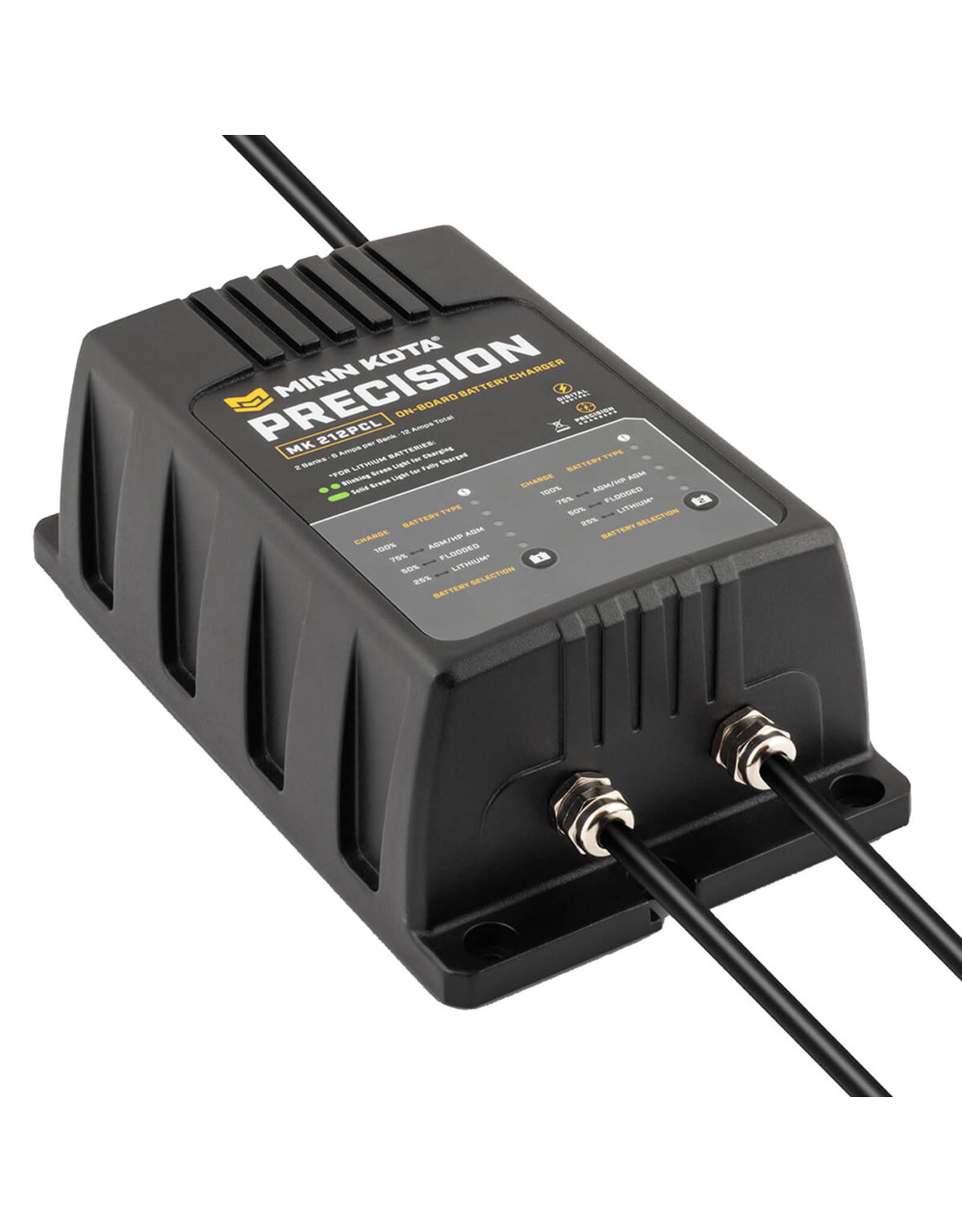 Minn Kota MK-212 PCL 2 Bank x 6 AMP LI Optimized Charger