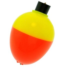 "Betts 7/8"" Pear Floater Orange/Yellow"
