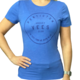 Omni Apparel Ladies- In This Town We Wear Blue Tee Shirt