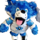 HarVee Vees Mascot Plush Fox