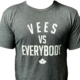Omni Apparel Mens Vees vs Everybody T shirt