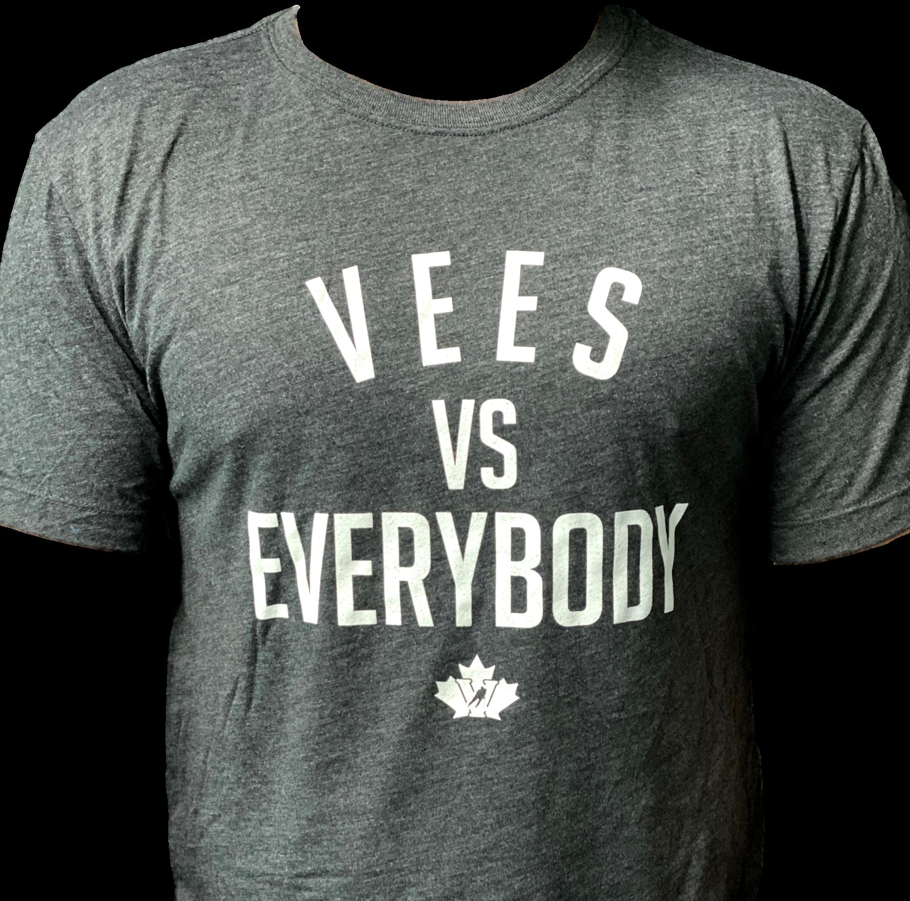 Omni Apparel Mens Vees vs Everybody T shirt