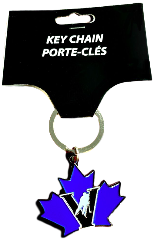 Vees metal key chain
