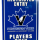 Vees Metal parking sign